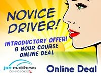 8 DRIVING LESSONS FOR £95.OO IN LEICESTER
