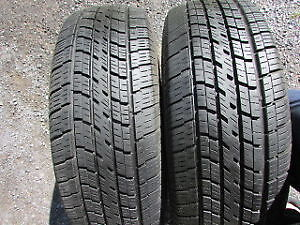 235/60R16  Set of 2 Cooper Used FREE Inst.&Bal.70%tread