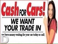 We buy all cars top price paid on collection 100 to 100O
