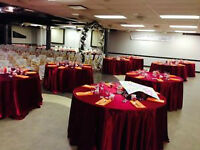 330 person banquet hall to rent for all occasions 24/7,Full lic.
