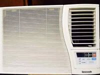 Air conditioner Panasonic CW-XC120VK (remote/temp. control)