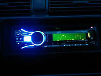 New car sterio with USB/audio in