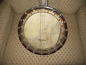 Antique Zither Banjo for restoration -Very unique with 6 tuners