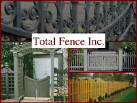 Beautify your Outdoors with Total Fence Inc.
