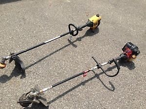 2 string trimmers for sale!