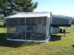 Add a Room for Coleman Mesa Tent Trailer