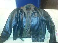 Manteau cuir Guess