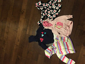 Carters 18m zipper sweaters