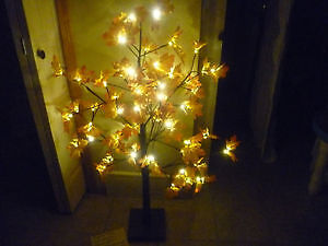 Light Up Maple Tree with Wall Plug In
