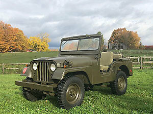 1967 JEEP WILLYS MILITARY M38A1 FOR SALE
