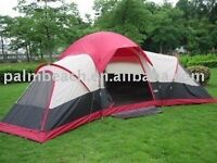 Camping tent takes up to 10 people