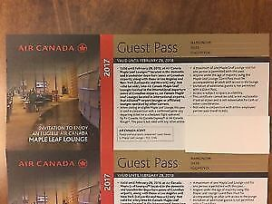 LOOKING FOR AIR CANADA MAPLE LEAF LOUNGE PASS