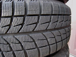4 x 225/40/18 BRIDGESTONE blizzak w70 RUN FLAT WINTER tires %95