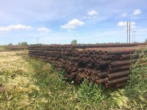 Used Pipe And Corral Material