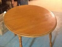 Oval Table with Leaf