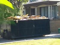 BIN RENTAL NO EXTRA CHARGES ALL INCLUSIVE DISPOSAL DUMPSTER