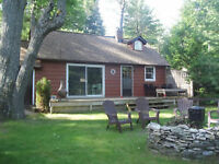CANOE / FISHING ADVENTURE COTTAGE FOR RENT