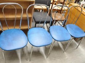 FURTHER REDUCTION!! Set of 4 Dining Chairs - Can Deliver For £19