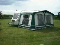 Swift challenger with awning and all accessories. Can deliver