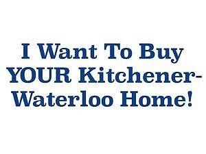 I Buy Kitchener-Waterloo Homes FAST! (No Expensive Fees!)