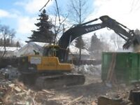 Excavator and Bobcat Services and Tandem Gravel Trucks For Hire!
