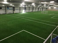 Turf Soccer and ball hockey rink spring deals! Call now to rsvp!