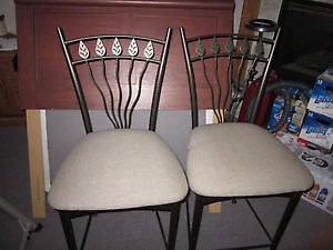 COUNTER HEIGHT CHAIRS St. John's Newfoundland image 1