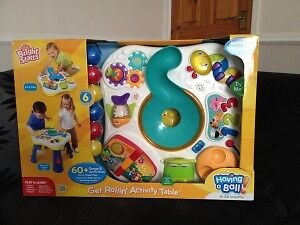 Bright Starts Having a Ball Get Rollin' Activity Table BRAND NEW