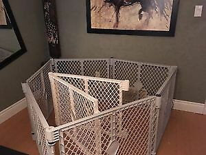 Similar to picture, baby pen or puppy pen etc