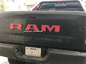 """RAM 4"""" decal letters -  new never installed."""