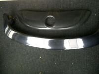 Volks Beetle Noir Aileron Arriere & Deflecteur Avant