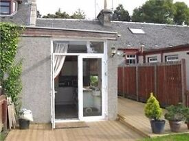 Superb furnished two double bedroom cottage in Loanhead, close to Straiton retail park.