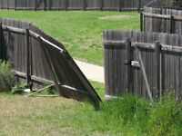 Free Fence / Deck Removal Service