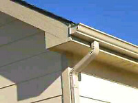 Seamless eaves trough installed and repaired....