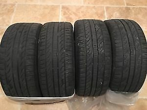 255/50R/19 PIRRELI SCORPION 2 USED WINTER TIRES 75%tread left