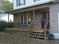 Front Porch, Deck or Patio