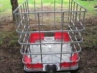 Steel cages for firewood