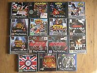 old games consoles in you loft ? - SONY PLAYSTATION 1 / PS1 / PSone console & games wanted