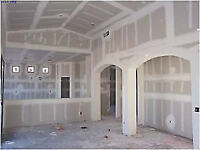 Drywall work and design with drywall