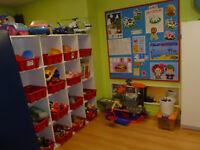 Place disponible Garderie accréditée (enseignante diplômée)