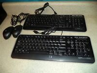 USB Keyboards and Mice