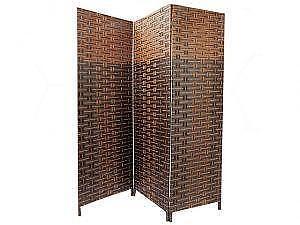 3 Panel Wooden Bamboo Divider (BD-2655)