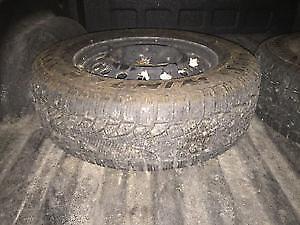 215 65 R16 Pirelli winter tires with rims London Ontario image 2