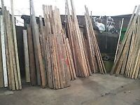 Reclaimed timber most sizes