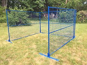 Temporary Construction Metal Fence