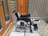 Wheelchair moonlite breezy self propelled - as new!