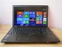 ASUS WIFI LAPTOP AS NEW 4 GB RAM 500 HARDDRIVE GOOD BATTERY 4 hours ULTRA THIN
