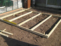 Custom Made Shed Bases For sale...
