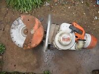 2 x sthil ts350 saws in ex working order comes with steel blades £100.00 each