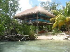Cabana on lake front property in Mexico for Rent